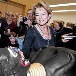 Makode Linde tårta kulturminister Lena Adelsohn Liljeroth