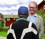 Fredrik Lindström i samspråk. Foto: Zoria Hedrén/SVT