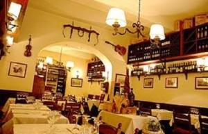 Vår restaurang  La Buca di Ripetta