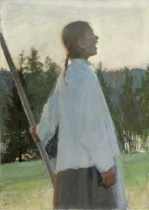 Eko, 1891, olja på duk. Foto: Andersudde/Ahvenanmaaa, Åland.
