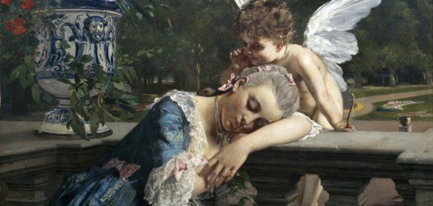 Julius Kronberg, Insomnad, 1883, olja på duk, 110 x 130 cm. J.A. Bergs samling, Stockholms universitet Fotograf: Jean-Baptiste Béranger