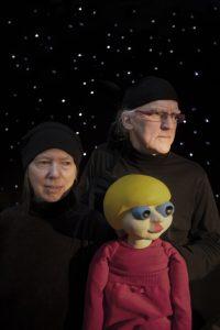 """Margareta och lars -Göran Selander.- """"Docka från pjäsen-planetens hemlighet"""""""