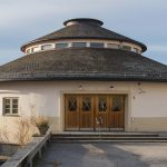 Frimurarebarnhuset i Blackeberg, Stockholm, arkitekt Hakon Ahlberg. Foto: Hallands Konstmuseum