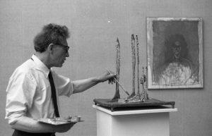 Foto 1962 vid Venedig Biennalen av copyright Paolo Monti.