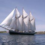 Segelfartyget Westkust. Foto: T/S Westkust